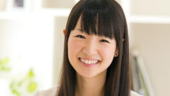 Organisation expert and bestselling author, Marie Kondo.