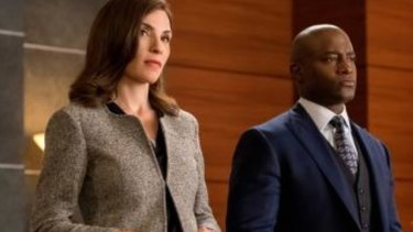 Margulies , left, played lawyer Alicia Florrick in The Good Wife.