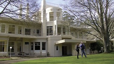 Empty for decades: the sprawling 1930s mansion Burnham Beeches in  Sherbrooke will be redeveloped.