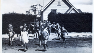 Children at a school at Cocoroc in the 1950s.