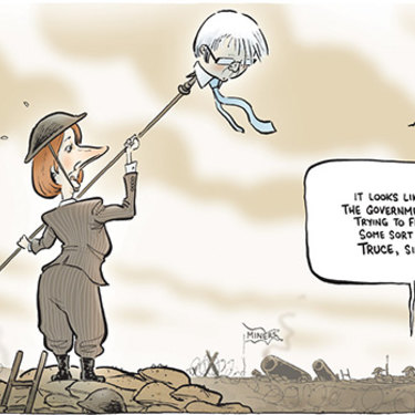 The Canberra Times editorial cartoon for June 25, 2010.