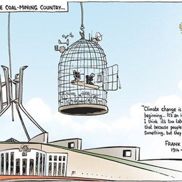 The Canberra Times editorial cartoon for November 24, 2010.