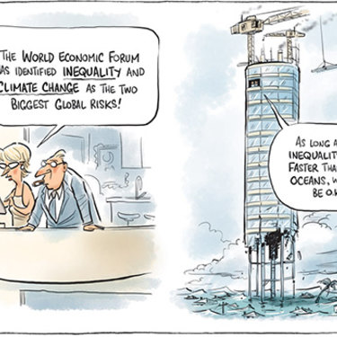 The Canberra Times editorial cartoon for January 16, 2017.