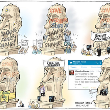 The Canberra Times editorial cartoon for March 21, 2015.