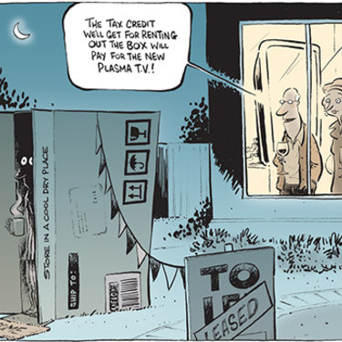 The Canberra Times editorial cartoon for March 4, 2004.