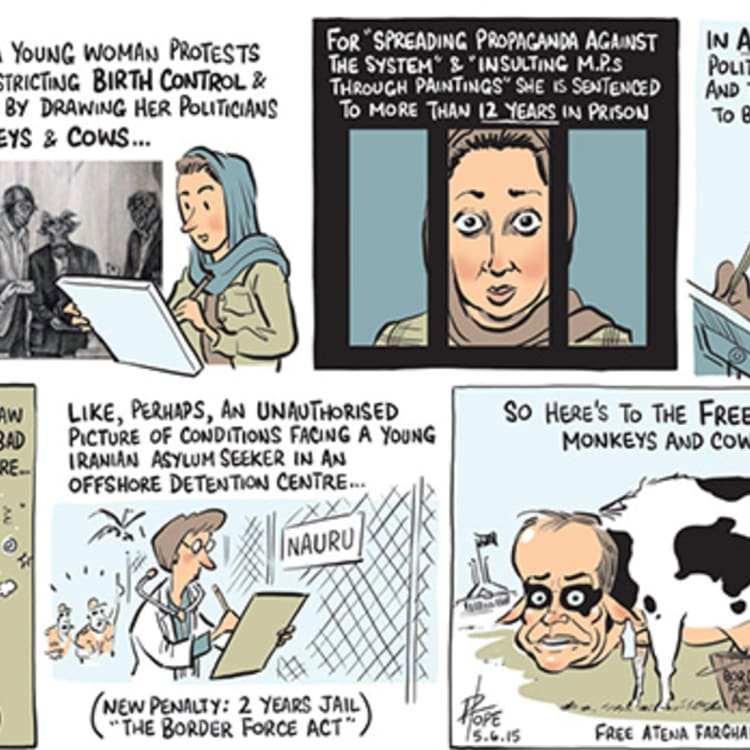 The Canberra Times editorial cartoon for June 5, 2015.
