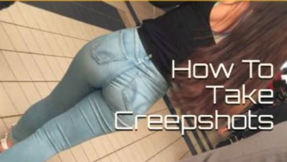 Guide to taking 'creepshots' available online in Australia