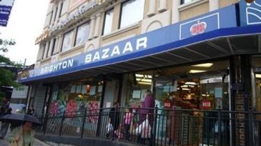 The Brighton Bazaar supermarket owned by Vladislav Tolstykh.