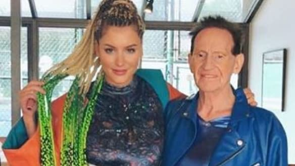 Geoffrey Edelsten and Gabi Grecko reunite two years after split