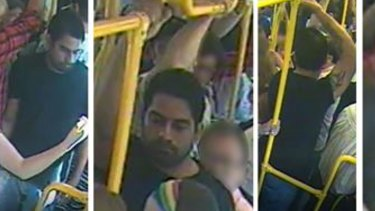 Police want to speak to this man about a sexual assault on a Melbourne tram on February 2.