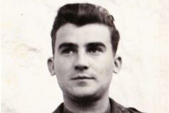 Bruno Bazec served in the Italian army during WWII.