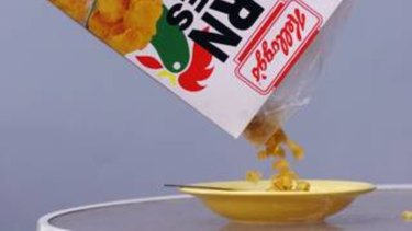 A man who killed another resident at a Melbourne Salvation Army crisis home after he became angry over a bowl of spilt Corn Flakes, has been jailed for eight years.