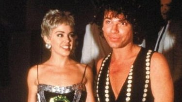 Kylie Minogue dated INXS lead singer Michael Hutchence from 1989 to 1991.