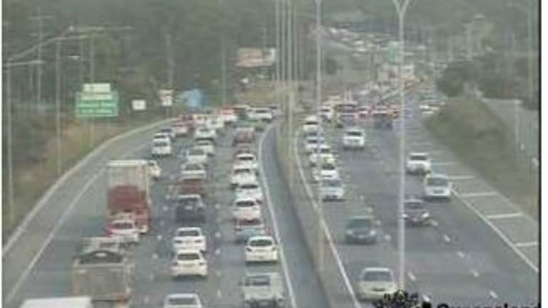 Major delays on Gateway and Pacific Motorway at Rochedale on Tuesday, July 10, 2018