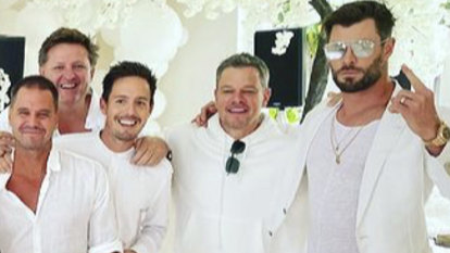 The Hemsworths hit peak Byron Bay with their White Party