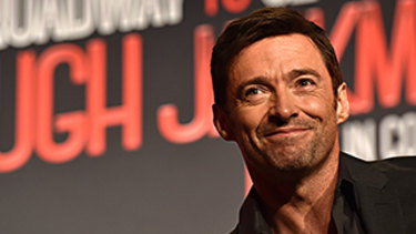 Honoured: Hugh Jackman.