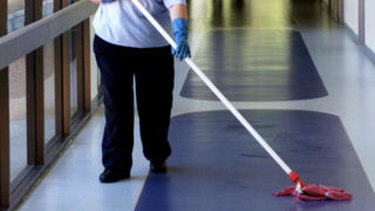 Spotless has been fined $180,000 for failing to clean Victorian state schools properly