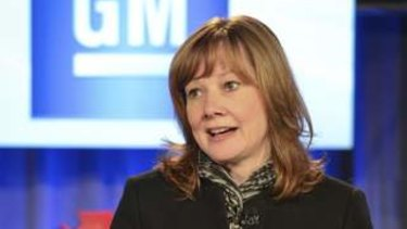 New General Motors CEO Mary Barra.