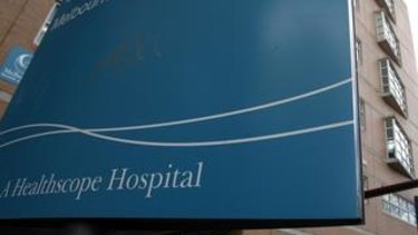 Healthscope has decided that the hospitals aren't 'viable'.