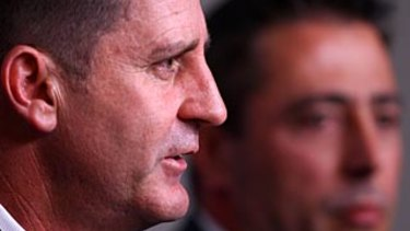 Ross Lyon and Fremantle CEO Steve Rosich are under the gun for off-field issues.