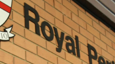 The man was taken to Royal Perth Hospital.