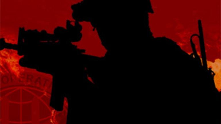 An Australian SAS officer on an operation.