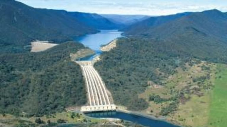Snowy Hydro has experienced falling water levels at its dams.