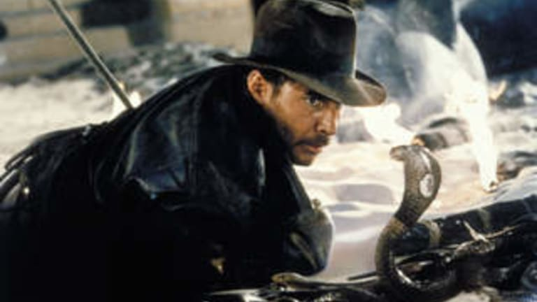 Harrison Ford, seen here in <i>Raiders of the Lost Ark</i>, was not the first choice for either Indiana Jones or Han Solo.