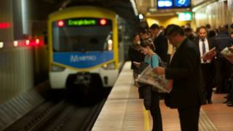 The massive, $50 billion, underground suburban rail network will be built, linking every major rail line in Melbourne and the new airport rail, the Victorian government has pledged.
