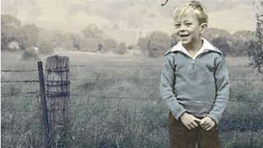 Steve Bisley as a boy on the cover on Stillways, the first book of his memoirs.