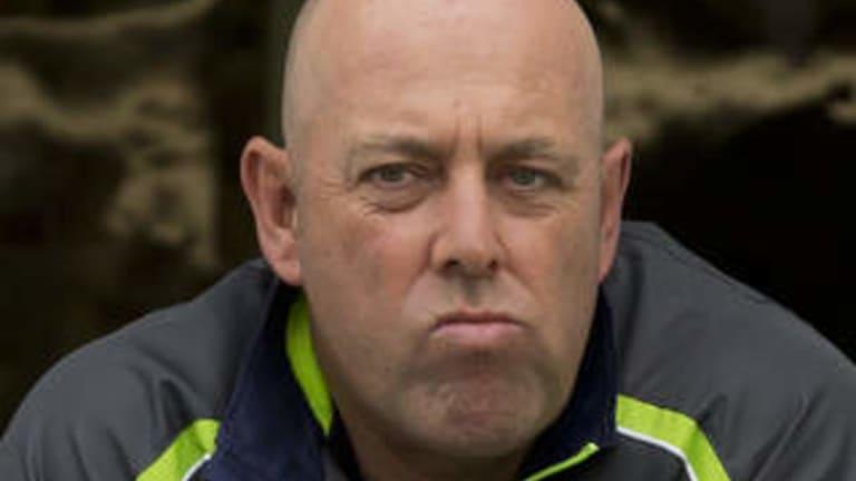 Australia's coach Darren Lehmann.
