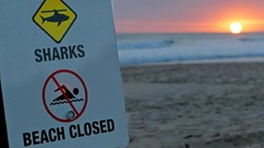 Sunrise at Bunker Bay, Dunsborough, the scene of a fatal shark attack yesterday Photo by Ben Crabtree / WA News 05/09/2011 **FAIRFAX ONLINE AND FINANCIAL REVIEW OUT**