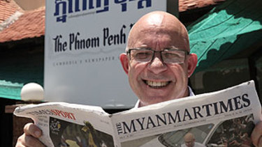 Makalah utama Australia Barat dimiliki bersama di Myanmar dan Kamboja.