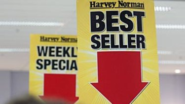 Harvey Norman has posted a record full-year result.