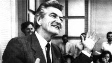 Bob Hawke in 1983.