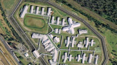 Prisoners are on the roof of Arthur Gorrie Correctional Centre at Wacol.