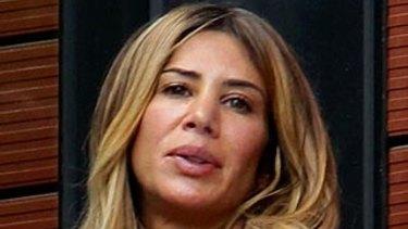 Mokbel's partner Danielle McGuire.