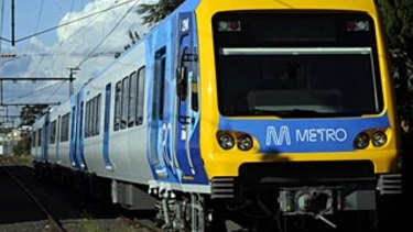 A woman was allegedly assaulted on a Melbourne train.