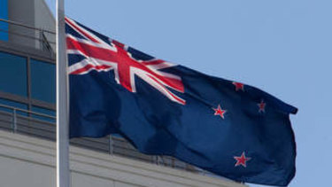 New Zealand's national flag.