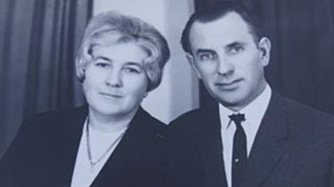 Les Murray and his wife Valerie.