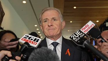 Former Labor minister Simon Crean calls for a leadership vote in 2013.