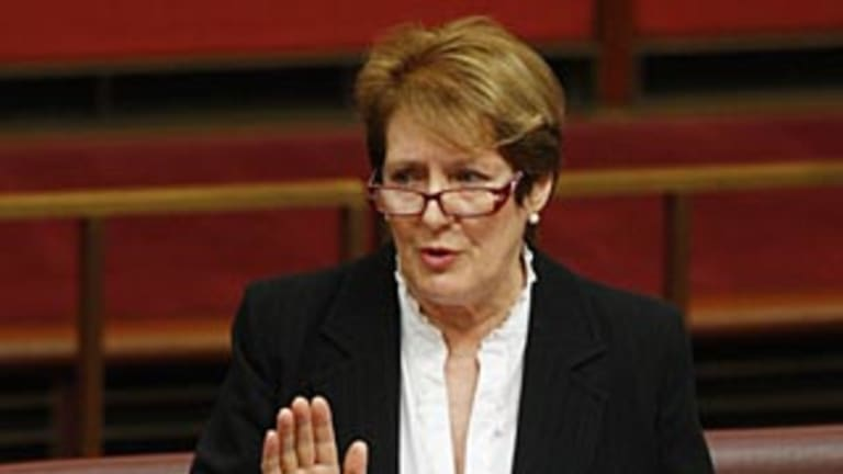 Former senator Judith Troeth is calling for quotas.