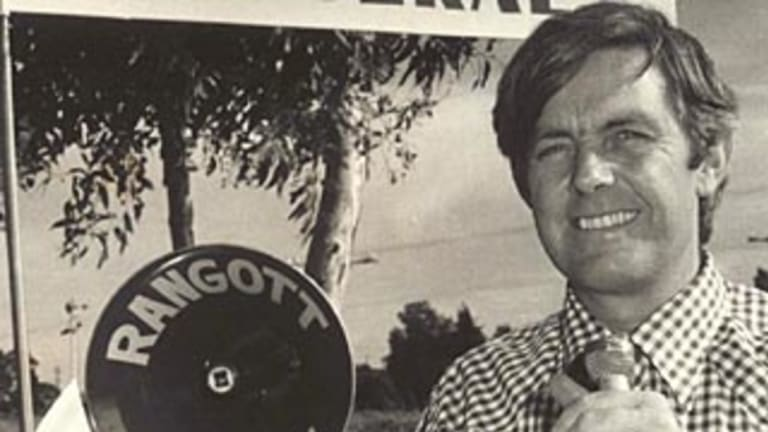 Murdered Griffith businessman Donald Mackay.