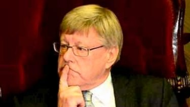 Upper house president Bruce Atkinson.