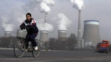 A coal-fired power plant in Shanxi province. Chinese lenders are funding $US36 billion of coal projects across the world