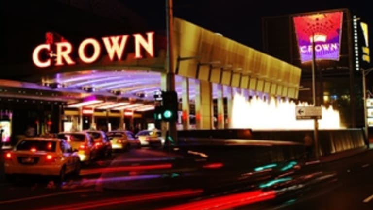 Revenue from international VIP gamblers was up by 73 per cent at Crown's casino in Melbourne.
