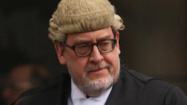 Former director of public prosecutions John Champion.