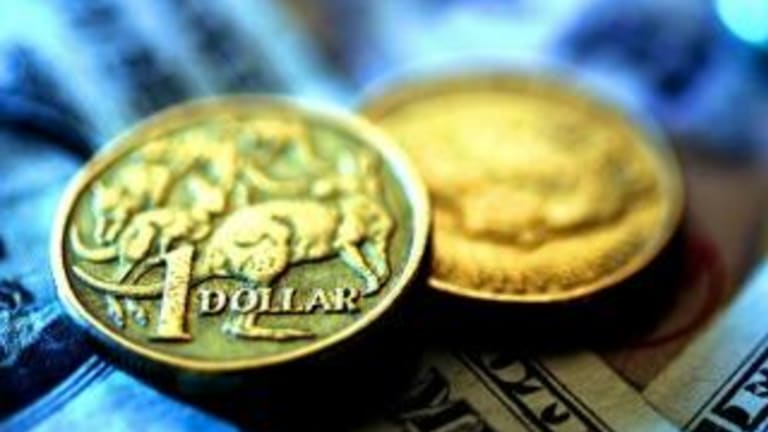The Aussie dollar has declined amid the leadership turmoil in Canberra.