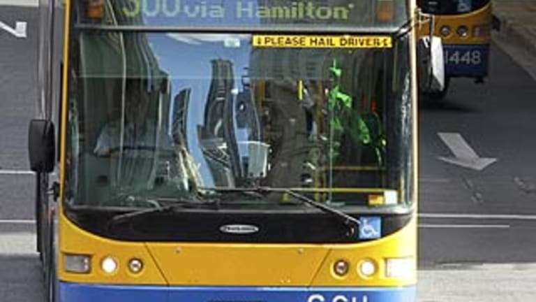 More than 200 buses were delayed in Brisbane on Tuesday evening.