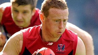 Former Melbourne footballer Sam Blease.